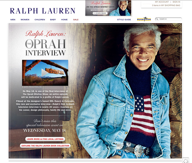 Ralph Lauren - Photo by Barbra Walz