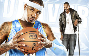 Carmelo Anthony / photo by Paul Aresu