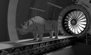 Rhinos Tunnel - CGI by 2Fake